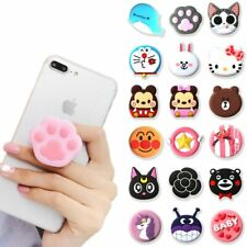 3D Cute High Quality PullUp Phone Holder  Hand Grip Mount For iPhone Samsung