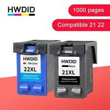 Refill Ink Cartridge Replacement for HP21 XL Deskjet F2180 F2200 F2280 F4180 New