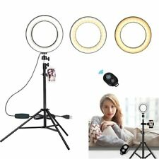 Studio LED Ring Light with Stand Dimmable Photo Video Lamp Kit For Camera Phone