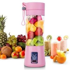 Portable Personal Blender Juicer Mix Fruit Blend Rechargeable Cordless Squeezers