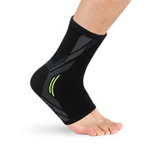 HB- Sport Football Ankle Support Brace Compression Elastic Foot Protector Fashio