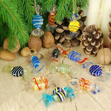 Vintage Murano Style Various Glass Sweets Candy Ornament for Home Decor