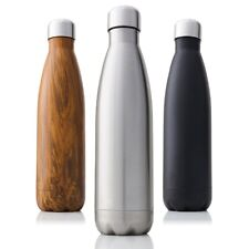 350/500/750/1000ml Double-Wall Insulated Vacuum Flask Stainless Steel Water
