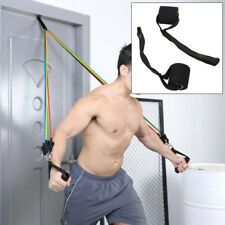 BG_ BL_ Home Sports Fitness Elastic Exercise Strap Resistance Band Door Anchor R