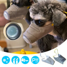 1PC/3PCS Dog Face Mouth Mask Soft Pet Pollution Muzzles Dustproof Anti-fog Masks