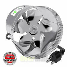 """6""""/8"""" Air Duct Fan Duct Booster Inline Blower Fan Dryer Exhaust Vent Air Cooling"""