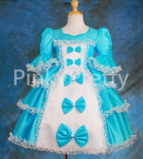 Girl Party Costume Princess Occassion Victorian Dress Age 1-9 Years VD001
