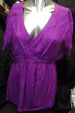 SOUTH LADIES SUMMER TOP PURPLE (All Sizes) BNWT