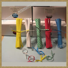 "2000 pcs 4"" Paper Twist Tie - 5 Colors for your Choice"