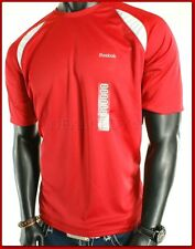 NWT MENS REEBOK RED HYDROMOVE ATHLETIC  T-SHIRT