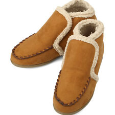 Casual Warm Loafers Winter Womens Shoes Brown