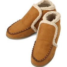 Comfort Warm Loafers Winter Womens Shoes Brown
