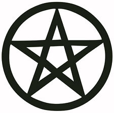 """PENTAGRAM"" DECAL/STICKER anton lavey satan black metal"