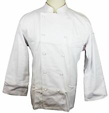 NWT Dickies Hospitality CW070101 Grand Master Chef Coat Jacket 34-56 WHITE