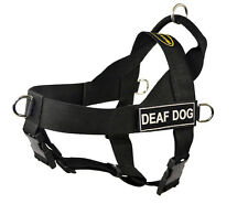 No Pull Harness with Patches DEAF DOG