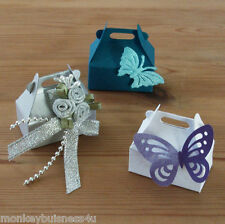 20 - small Favour Boxes - Die Cuts - Party - Wedding - Gifts - Christmas - Deco