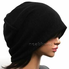 Unisex chic Baggy BEANIE oversize slouchy Knit Hat men women Skull Cap New Bgy