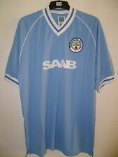 Bnwt Manchester City Retro Home Football Shirt 1982