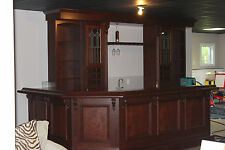 Custom Built Home Bar - Basement Pub