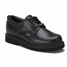 Rhino 40C01 Mens LEATHER Cushioned Postman Oxford Work OIL SLIP RESISTANT Shoes