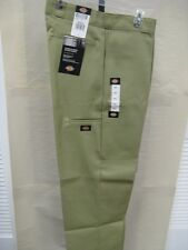 New Dickies Men's  Double Knee Work Pant Khaki Loose Fit Style# 85283KH