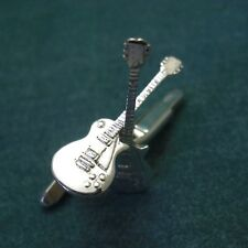 Silver Gibson electric Guitar Cufflinks, Les Paul, SG, Flying V, or Explorer 925