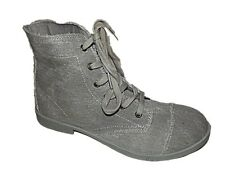 LADIES NEW EX-NEXT MILITARY STYLE LACE UP CASUAL ANKLE BOOTS RRP £25 SIZE 3 - 9