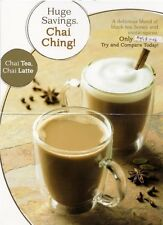 ROY AMERICAN CHAI TEA SINGLES LATTE FRAPPE FROM FAMOUS MAKER PAUL ROY