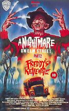 A NIGHTMARE ON ELM STREET 2 FREDDYS REVENGE Movie Poster Horror Freddy Kruger