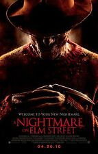 A NIGHTMARE ON ELM STREET Movie Poster Horror Freddy Kruger  2010
