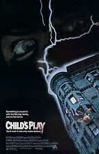 CHILDS PLAY Movie Poster Horror Chucky