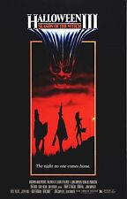 HALLOWEEN III 3 Season of the Witch Movie Poster Horror