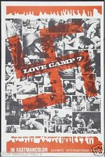 LOVE CAMP 7 Movie Poster Nazi Expoiltation Hitler