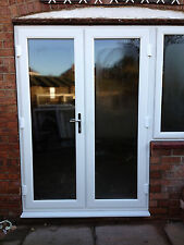 WHITE PVC UPVC FRENCH DOORS / WINDOW - NEW MADE TO MEASURE  #006