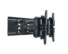 "Dual Arm Tilt Swivel Corner Wall Mount Bracket For / Fits 23""- 32"" Lcd,Led HD TV"