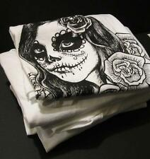Captivating Day of the Dead Girl T-Shirt For Women - Beautifully Illustrated