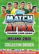 Match Attax Ireland 2012 (Euro 2012) Star Player Cards - Green Backed Cards
