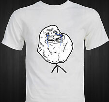 FOREVER ALONE - Rage Comic - funny internet meme T-shirt