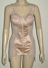 Miss Mary ,Slimmer Lace Body Shaper with Garter