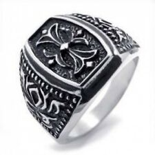 Fashionable Sectioned Titanium Steel Ring for Men & Woman's  SZ14-75508