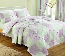 Lilac Bedding / Bed Linen, Duvet Covers, Patchwork Quilts or Bedroom Curtains