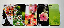 Porcelain Color Beautiful Decal Design Hard Case Cover Skin for iPhone 4 4G 4S