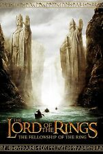 THE LORD OF THE RINGS Movie Poster RARE Gandalf The Hobbit