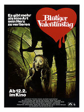 MY BLOODY VALENTINE Movie Poster RARE Horror