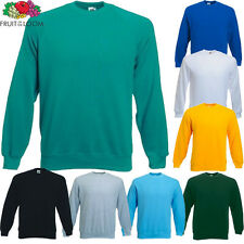 Fruit of the Loom Childrens Kids Sweatshirt Sweat Jumper New Age 3-4 up to 12-13