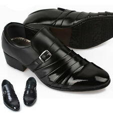 New Handmade Dynamic Black Dress Casual Loafers Formal Mens Shoes