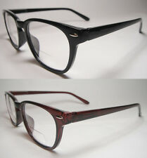 BIFOCAL VISION SPRING TEMPLE READING GLASSES -942BF - 1.00,1.25,1.75, 2.00,2.25