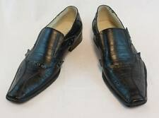 New Obsessed Black Men's Dress shoes Slip-on Faux leather. L599