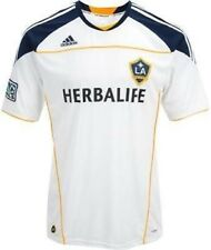 NEW Mens Sz XL ADIDAS MLS L A LA Galaxy Home Replica Soccer Jersey S/S Shirt