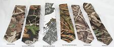 Infinity, New Mossy Oak Breakup, Winter Branch, Shadowgrass, Max-4, AP camo tie